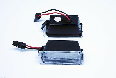 2x LED LICENSE NUMBER PLATE LIGHT FORD MONDEO MK4 IV 4 CANBUS