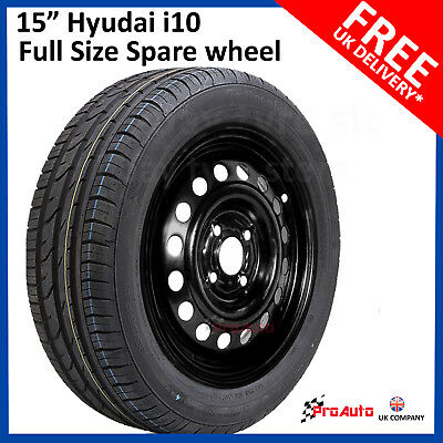 "Nissan Note 2013-2018 16/"" FULL SIZE STEEL SPARE WHEEL /& TYRE 195//55R16 TOOLS"