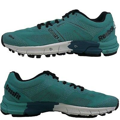 Reebok Men s R Crossfit One Cushion 3.0 Running Training Shoes Green  Sneakers 214a3745c