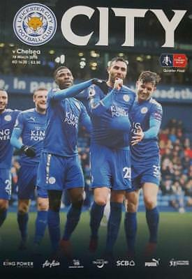 * 2017/18 - LEICESTER CITY v CHELSEA (FA CUP - 18th March 2018) *