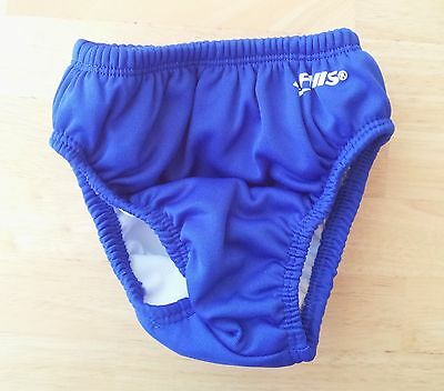 Finis Boys Swim Diapers, Royal Blue, Large, 12-18 Months