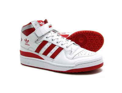 best sneakers f4ac7 e64d6 MEN S ADIDAS ORIGINALS FORUM MID REFINED RETRO WHITE RD SZ 10 thru 11 F37829