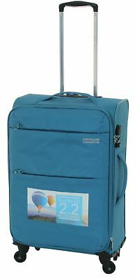 Australian Luggage Co So-Lite 66cm Spinner Suitcase Teal