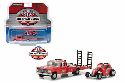 GREENLIGHT 33100 C STP 1968 FORD F-350 RAMP TRUCK with TOPO FUEL ALTERED 1//64