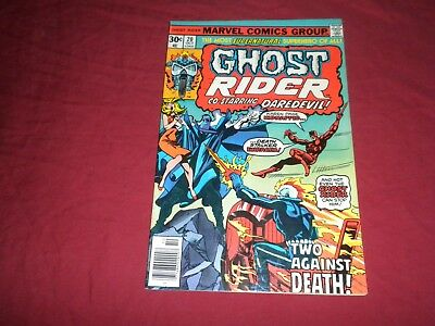 Ghost Rider #20 marvel 1976 bronze age 7.0/fn/vf comic! Visit my store!!!!