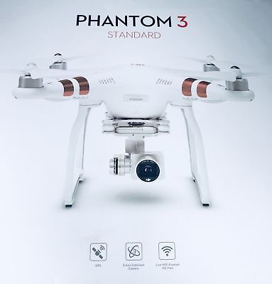 DJI Phantom 3 Standard Drone with 2.7K Camera and 3-Axis Gimbal (NEW SEALED BOX)