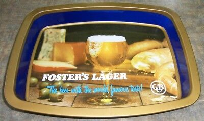 Vintage Fosters Lager Drink Tray
