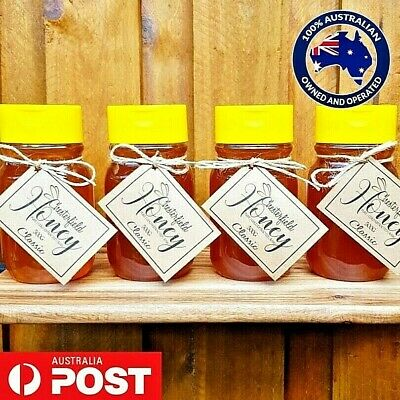 100% Pure Australian Honey Organic Raw 2 Kg - Direct from the Beekeeper