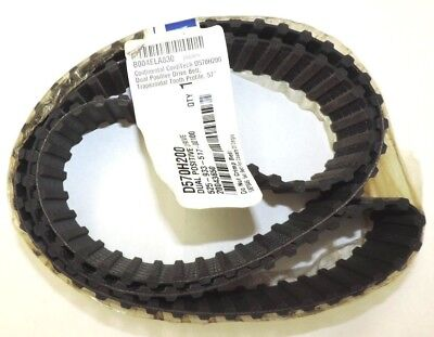 "Continetal D570H200 Dual Positive Drive Belt 57"" Length, 2"" Wide, 0.234"" Height"