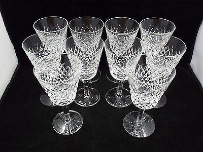 Waterford Crystal Alana 10 Claret Wine Glasses, 5 3/4""