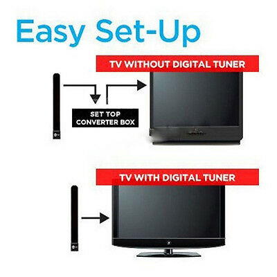 1080p Clear TV Key HDTV FREE TV Digital Indoor Antenna Cable As seen on TV US
