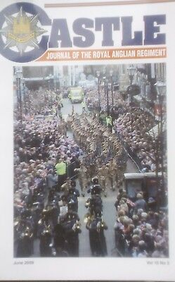 """""""Castle - The Journal of the Royal Anglian Regiment"""" June 2009 Vol 15 No.3"""