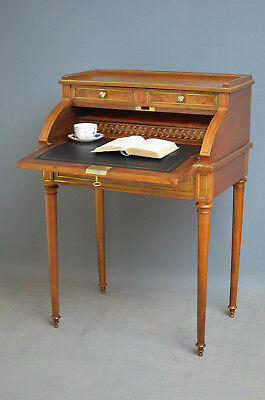 XIXth Century French Burr Walnut Bureau
