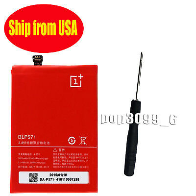 HOT New Replacement 3100mAh ( BLP571 ) Battery For ONEPLUS ONE 1+ A0001 USA