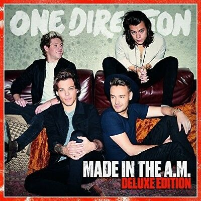 Made In The A.M. (Japanese Deluxe Edition) - One Direction (2015, CD NIEUW)