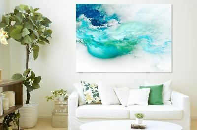Abstract beautiful Cloud Colorful Painting Canvas Print Home Decor Wall Art GIFT