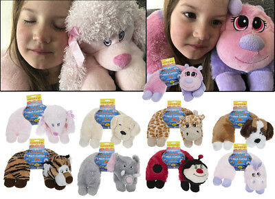 Travel Pillow Car Kids Childrens Neck Support Luxury Cushion Soft Toy Animal NEW