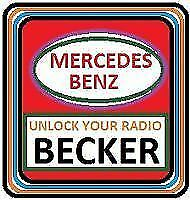 Mercedes Benz Becker All Be Model Radio Code Decode Unlock