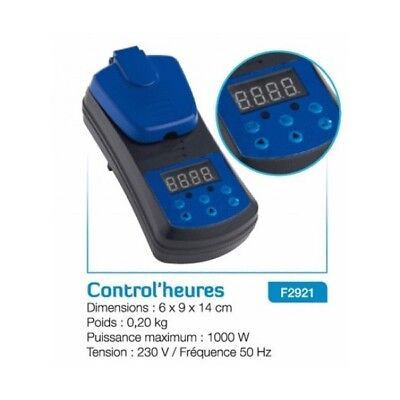Control'heure pour UV F2921