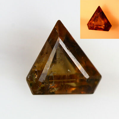 1.355 Ct  Earth Mined Unique Dazzling 100% Natural Dancing' Color Change Axinite