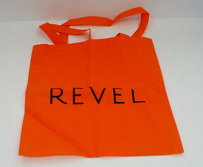 Atlantic city Revel resort  casino orange promo bag