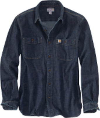 Carhartt 102257 Rugged Flex Patten Denim Shirt