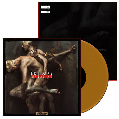 "EDITORS ""Magazine"" 7""-Vinyl in GOLD - 249 Ex. + Sonic Seducer 03/2018"