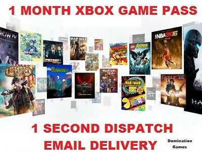 Xbox One Game Pass 1 Month Subscription Trial (Instant Delivery!)