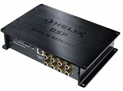 Helix Dsp 8 Channel Digital Sound Processor Equalizer Frequency Crossover
