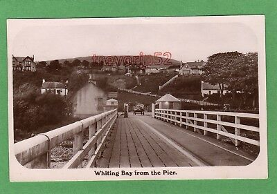 Whiting Bay from Pier Isle of Arran RP pc used 1910 Caledonia  Ref G829