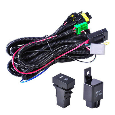wiring harness sockets switch for h11 fog light lamp ford focus factory ford fog light wiring harness ford ranger h11 fog light wiring harness sockets wire led indicators switch for toyota