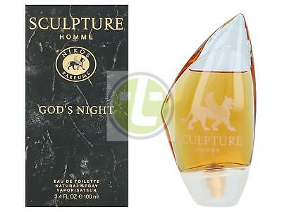 Nikos Sculpture Homme God'S Night Edt Spray 100ml MEN Eau de Toilette