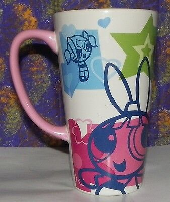 Cartoon Network~RARE~Warner Bros. Power Puff Girls Cup Mug~2001.   **SALE**