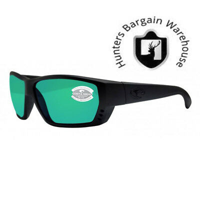 Costa Del Mar Tuna Alley Black Out Green Mirror TA01OGMGLP 580G Sunglasses