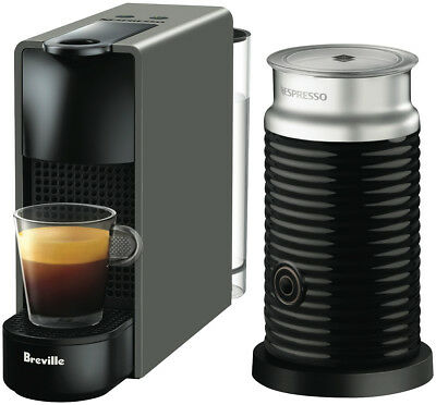 NEW Nespresso BEC250GRY Breville Essenza Mini - Grey