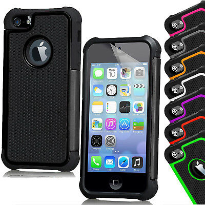 Armour Shock Proof Defender Case Cover Hard Silicone For Apple iPhone 6/6s Plus