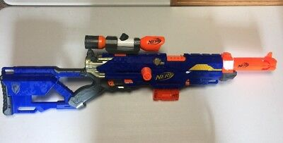 Nerf N-strike Longstrike Modulus Barrel & Scope Working Hasbro Working
