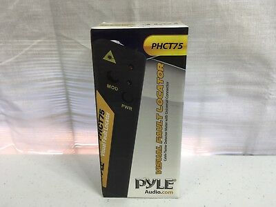 Pyle Visual Fault Locator PHCT75 ✰✰ NEW FACTORY SEALED ☆✔➔☆✔➔☆✔➔