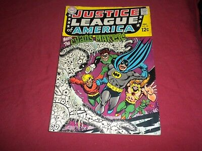 Justice League of America #68 dc 1968 silver age 4.5/vg+ comic! Lots of JLA up!!