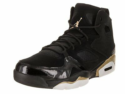 JORDAN FLIGHT CLUB  91 Black Metallic Gold-White (555475 031 ... c23f89c73