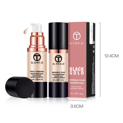 O.TWO.O Foundation 24h Full Coverage Make-up liquid hohe Deckkraft perfect stay