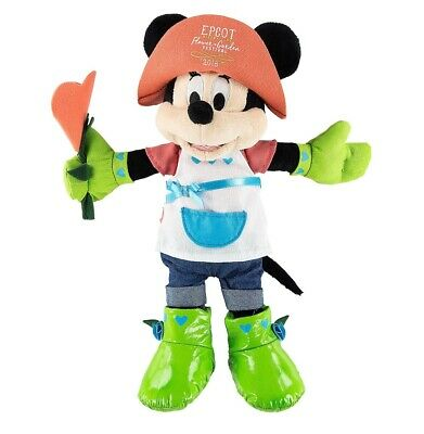 Disney Parks Epcot Flower & Garden 2018 International Minnie Plush New with Tag