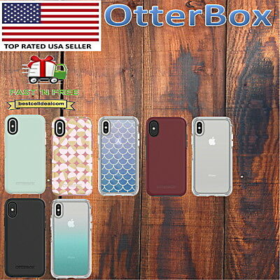 official photos b7a2e 86e1b OTTERBOX SYMMETRY CASE iPhone XS & iPhone X 10 Black Red Glitter Most Colors