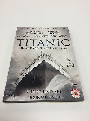 Titanic 100th Anniversary Edition 2 Disc Special Edition UK PAL Region Free