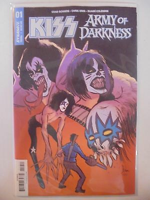 Kiss Army of Darkness #1 A Cover Dynamite NM Comics Book