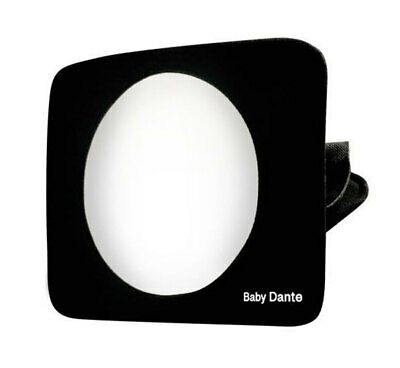 Roger Armstrong Travel Safe Full View Car Seat Safety Mirror for Baby/Infant