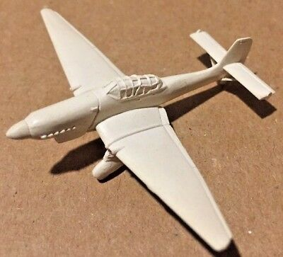 "Vintage WWII Recognition Toy ID ""JU"" (X16) White"