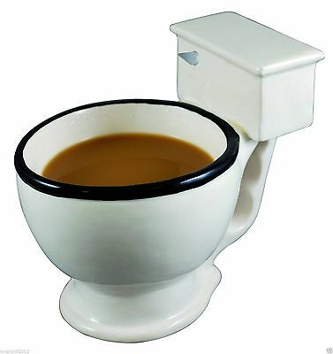 Hot The Toilet Mug, Coffee, Tea, Icecream, Beverages Cup, Humorous Funny Gifts