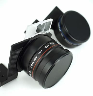Photax Aux Telephoto and Wide Angle Lens 2m to Infinity Japan