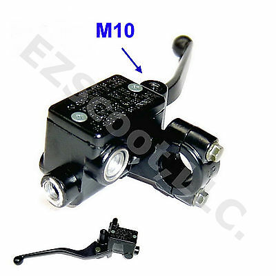 Hydraulic Brake Master Cylinder Right 22Mm Lever M10 Gy6 Scooter Atv Roketa Tank